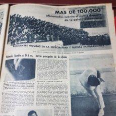 Collectionnisme sportif: REPORTAJE PELOTA VALENCIANA 1961. Lote 266572098
