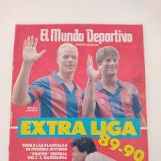 Collezionismo sportivo: MUNDO DEPORTIVO EXTRA LIGA 89-90 1989-1990 - INCLUYE POSTER.. Lote 266706513