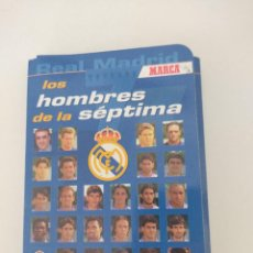 Collezionismo sportivo: LOS HOMBRES DE LA SEPTIMA MARCA COMPLETO COLECCION DE FICHAS. Lote 266708943