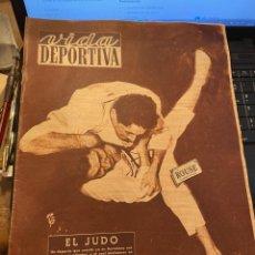 Collectionnisme sportif: ANTIGUA REVISTA - VIDA DEPORTIVA - 3-3-1952 - AÑO IX Nº 342 - CAMPEONATO DE EUROPA DE JUDO. Lote 266927899