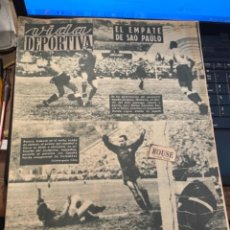 Coleccionismo deportivo: ANTIGUA REVISTA - VIDA DEPORTIVA -11-7-1950-AÑO VII - N 253- SELECCION ESPAÑOLA URUGUAY 2 ESPAÑA 2. Lote 267240609