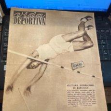 Coleccionismo deportivo: ANTIGUA REVISTA - VIDA DEPORTIVA -20-7-1950-AÑO VII - N 250 -KUBALA PREFIERE FIRMAR POR EL BARCEL. Lote 267241429