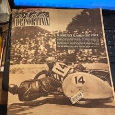 Coleccionismo deportivo: ANTIGUA REVISTA - VIDA DEPORTIVA -18-5-1950-AÑO VII - N 241 -MOTOCICLISMO CAMPEONATO DEL MUNDO MONTJ. Lote 267246319