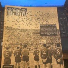 Coleccionismo deportivo: ANTIGUA REVISTA - VIDA DEPORTIVA - 29-11-1949 AÑO VI N.221 - MONOGRAFICO DE LAS BODAS DE ORO DEL F.. Lote 267721809