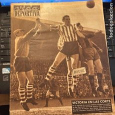 Coleccionismo deportivo: ANTIGUA REVISTA - VUDA DEPORTIVA - 8-3-1954 AÑO XI N. 442- BARCELONA 2 BILBAO 0 - GIJON 0 ESPAÑOL 1. Lote 267890239