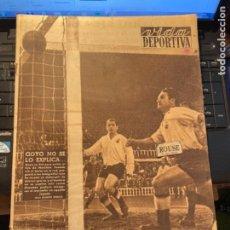 Coleccionismo deportivo: ANTIGUA REVISTA -VIDA DEPORTIVA - 8-11-54 AÑO XI N.477 BOXEO HERNÁNDEZ / BOBY ROS - MAQUETA ESTADIO. Lote 267897514