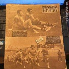 Coleccionismo deportivo: ANTIGUA REVISTA -VIDA DEPORTIVA - 23-8-54 AÑO XI N.466 - ENTRENAMIENTOS CLUBS DE 1ª DIVISION FUTBOL. Lote 267897784