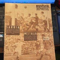 Coleccionismo deportivo: ANTIGUA REVISTA - VIDA DEPORTIVA 15-2-1954 AÑO XI Nº 439 VALENCIA 1 BARCELONA 0 ESPAÑOL 0 SANTANDER. Lote 268132404