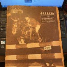Coleccionismo deportivo: ANTIGUA REVISTA - VIDA DEPORTIVA 4-1-1954 AÑO XI Nº 433 SELECCION ESPAÑOLA ESPAÑA TURQUIA. Lote 268134109