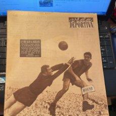 Coleccionismo deportivo: ANTIGUA REVISTA - VIDA DEPORTIVA 27-9-1954 AÑO XI Nº 471 BARCELONA 1 ESPAÑOL 0. Lote 268134669