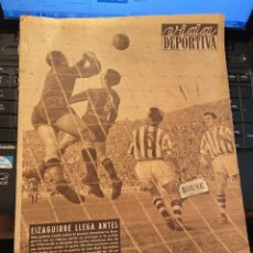Coleccionismo deportivo: ANTIGUA REVISTA - VIDA DEPORTIVA 13-11-1954 AÑO XI Nº 482 - LAS PALMAS 2 ESPAÑOL 0 BARCELONA 4 R. S. Lote 268135844