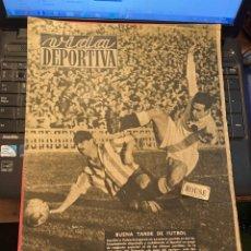 Coleccionismo deportivo: ANTIGUA REVISTA - VIDA DEPORTIVA 14-12-1948 AÑO V Nº 173 - ESPAÑOL 3 VALENCIA 0 OVIEDO 2 BARCELONA 0. Lote 268138369
