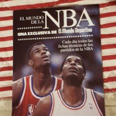 Coleccionismo deportivo: PEGATINA NBA MUNDO DEPORTIVO.. Lote 268188234