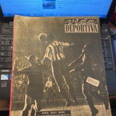 Coleccionismo deportivo: VIDA DEPORTIVA - 7-12-1948 AÑO V Nº 170 -MONOGRAFICO SOBRE TODOS LOS PARTIDOS F.C.B. ESPAÑOL. Lote 268272144