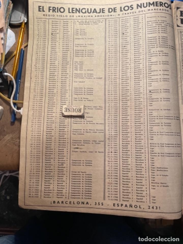 Coleccionismo deportivo: VIDA DEPORTIVA - 7-12-1948 AÑO V Nº 170 -MONOGRAFICO SOBRE TODOS LOS PARTIDOS F.C.B. ESPAÑOL - Foto 2 - 268272144