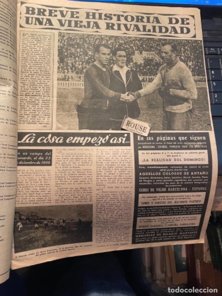 Coleccionismo deportivo: VIDA DEPORTIVA - 7-12-1948 AÑO V Nº 170 -MONOGRAFICO SOBRE TODOS LOS PARTIDOS F.C.B. ESPAÑOL - Foto 3 - 268272144