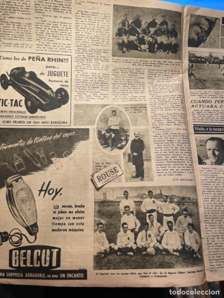 Coleccionismo deportivo: VIDA DEPORTIVA - 7-12-1948 AÑO V Nº 170 -MONOGRAFICO SOBRE TODOS LOS PARTIDOS F.C.B. ESPAÑOL - Foto 4 - 268272144