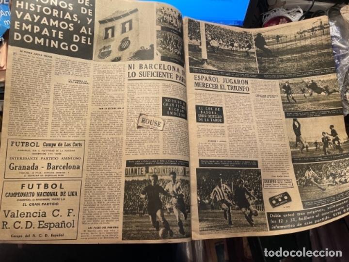 Coleccionismo deportivo: VIDA DEPORTIVA - 7-12-1948 AÑO V Nº 170 -MONOGRAFICO SOBRE TODOS LOS PARTIDOS F.C.B. ESPAÑOL - Foto 5 - 268272144