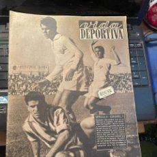 Coleccionismo deportivo: VIDA DEPORTIVA - 12-10-1948 AÑO V Nº 162 - SEVILLA 0 ESPAÑOL 3 BARCELONA 4 ALCOYANO 0 CELTA 3 SABADE. Lote 268282554