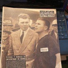Coleccionismo deportivo: VIDA DEPORTIVA - 12-7-1954 AÑO XI Nº 460 - PUSKAS Y KUBALA SE ENCUENTRAN EN BERNA - MOTORISMO TRIUNF. Lote 268288809