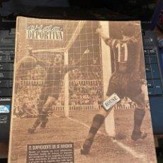 Coleccionismo deportivo: VIDA DEPORTIVA - 13-8-1954 AÑO XI Nº 469 - BARCELONA 4 SEVILLA 2 SANTANDER 3 ESPAÑOL 1 CICLISMO VUEL. Lote 268291479