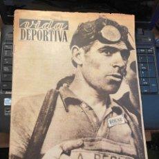 Coleccionismo deportivo: VIDA DEPORTIVA - 21-7-1952 AÑO IX Nº. 358 - CICLISMO TOUR DE FRANCIA. Lote 268295864