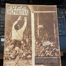 Coleccionismo deportivo: VIDA DEPORTIVA - 21-1-1952 AÑO IX Nº. 332 - ESPAÑOL 0 CELTA 2 VALENCIA 2 BARCELONA 2. Lote 268296859