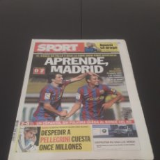 Coleccionismo deportivo: SPORT N° 10.813. 29 DE OCTUBRE 2009.. Lote 268730029