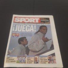 Coleccionismo deportivo: SPORT N° 9.018. 14 DE NOVIEMBRE 2004.. Lote 268731239