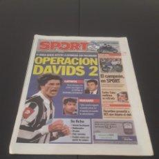 Coleccionismo deportivo: SPORT N° 8.995. 22 DE OCTUBRE 2004.. Lote 268732294