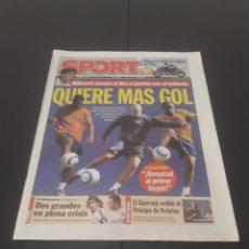 Coleccionismo deportivo: SPORT N° 8.996. 23 DE OCTUBRE 2004.. Lote 268732979