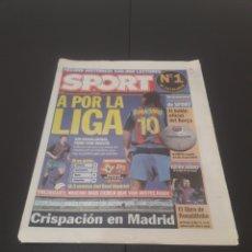 Coleccionismo deportivo: SPORT 8.804. 14 DE ABRIL 2004.. Lote 268733564
