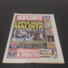 Coleccionismo deportivo: SPORT N° 8.805. 15 DE ABRIL 2004.. Lote 268735559