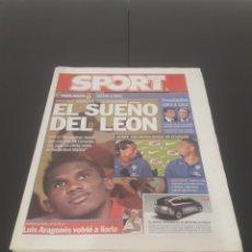 Coleccionismo deportivo: SPORT N° 9.021. 17 DE NOVIEMBRE 2004.. Lote 268739099