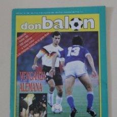 Coleccionismo deportivo: REVISTA DON BALÓN. Nº 768 ESPECIAL MUNDIAL DE FÚTBOL ITALIA 1990. Lote 127998567