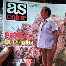 Coleccionismo deportivo: AS COLOR 484 PORTA EN LA ORILLA. Lote 268806149