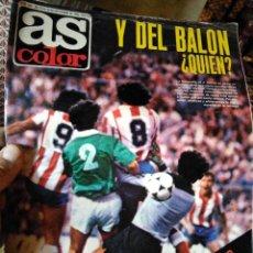 Coleccionismo deportivo: AS COLOR 588 POSTER FABRICANTES DE GOLES. Lote 268808294