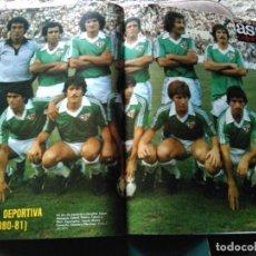 Coleccionismo deportivo: AS COLOR 489 POSTER ALMERÍA TEMPORADA 1980-81. Lote 268808679