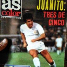 Coleccionismo deportivo: AS COLOR 482 JUANITO TRES DE CINCO. Lote 268832079