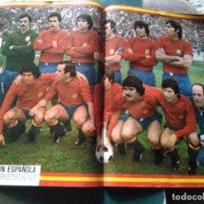 Coleccionismo deportivo: AS COLOR 366 POSTER SELECCIÓN ESPAÑOLA EXTRA MUNDIAL. Lote 268833474