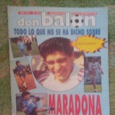 Coleccionismo deportivo: DON BALÓN 878 ESPECIAL MARADONA 1992 PÓSTER KIKO SELECCIÓN OLÍMPICA. Lote 268868919