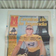 Coleccionismo deportivo: SUPLEMENTO MARCA TOUR DE FRANCIA 2002. MUY BUEN ESTADO.. Lote 268989064