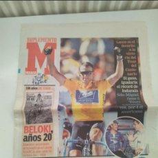Coleccionismo deportivo: SUPLEMENTO MARCA TOUR DE FRANCIA 20032. MUY BUEN ESTADO.. Lote 268989444
