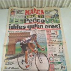 Coleccionismo deportivo: SUPLEMENTO MARCA TOUR DE FRANCIA 1991 MUY BUEN ESTADO.. Lote 268989874
