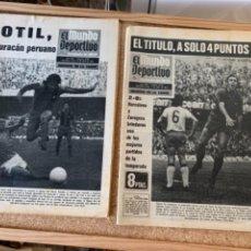 Coleccionismo deportivo: 8 MUNDO DEPORTIVO EDICIÓN TARDE AÑO 1974. Lote 269039638
