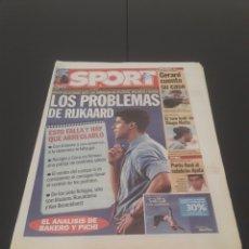 Coleccionismo deportivo: SPORT N° 8.606. 26 DE SEPTIEMBRE 2003.. Lote 269046458