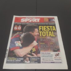 Coleccionismo deportivo: SPORT N° 12.593. 28 DE SEPTIEMBRE 2014.. Lote 269047438