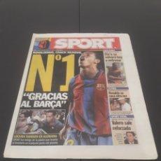 Coleccionismo deportivo: SPORT N° 8.950. 7 DE SEPTIEMBRE 2004.. Lote 269047833