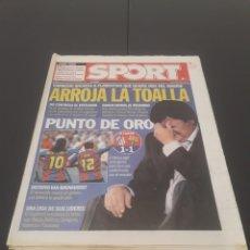 Coleccionismo deportivo: SPORT N° 8.963. 20 DE SEPTIEMBRE 2004.. Lote 269048303