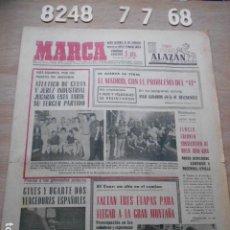 Coleccionismo deportivo: PERIODICO MARCA Nº 8.248 7 DE JULIO DE 1968 ATLETICO CEUTA Y JEREZ, REAL MADRID PROBLEMA 11. Lote 269065078